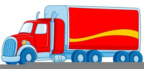 red lorry clipart  images  clkercom vector clip art  royalty  public domain