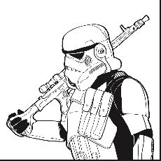 star wars coloring pages commander cody free coloring