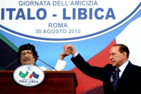 ultime notizie di politica interna italiana trattato italia libia il primo anniversario senza gheddafi