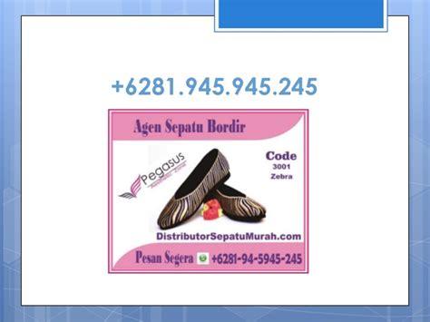 Sepatu Flat Bordir jual sepatu bordir jual sepatu bordir batik