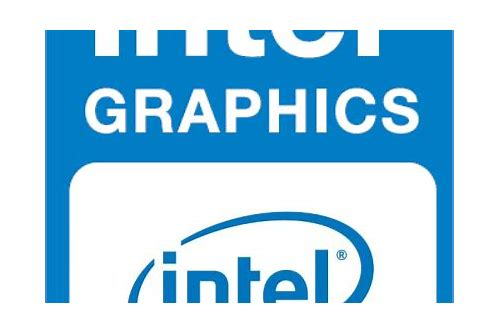download intel r hd graphics