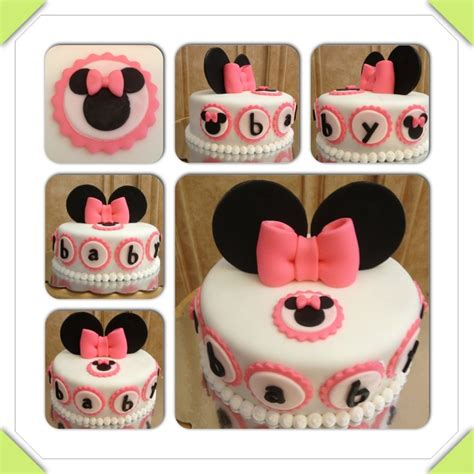 Minnie Mouse Baby Shower Cake by Minnie Mouse Baby Shower Cake Www Cakeitorleaveitcakesbymarianne Cake Ideas