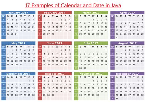 tutorial java calendar 17 exles of calendar and date in java