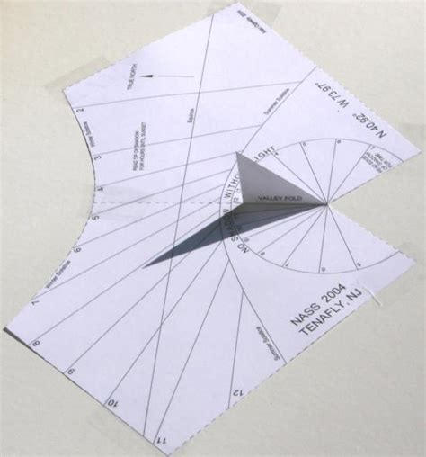 How To Make A Sundial Out Of Paper - how to make a sundial out of paper 28 images custom
