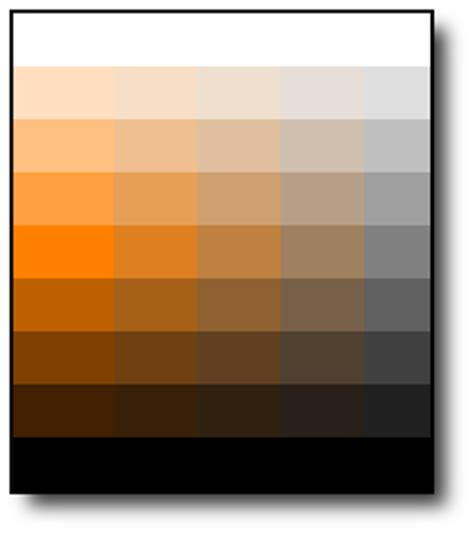 hues of orange question how css3 validator test suite