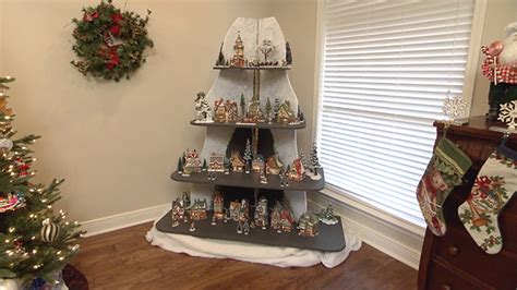 how to build a holiday display shelf unit todays homeowner