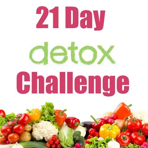 21 Detox Challenge by 21 Day Detox Vitality Habits Self Challenge Journey To A