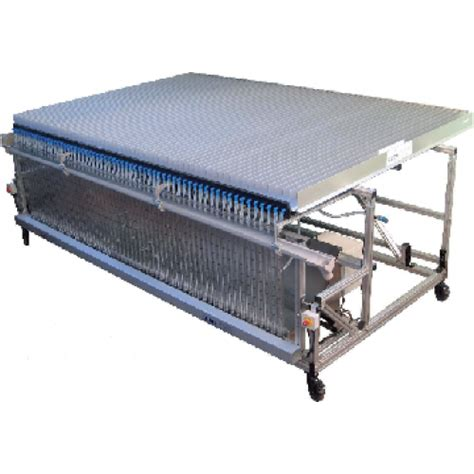 Patternator Spray | small spray table aluminium spray patternator 50 mm gutters