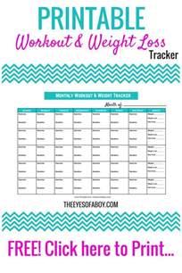 weight loss calendar template free printable workout weight loss tracker calendar