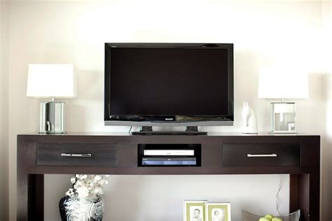 Media Console Contemporary Bedroom Caitlin Wilson Design