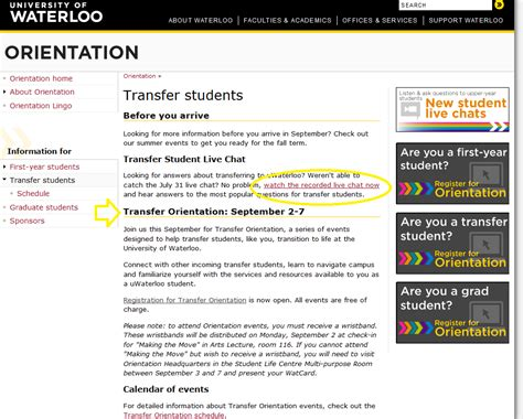 Central College 5 Mba Program Transfer by College Ontario College Transfer