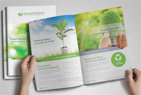 10 brilliant environmental amp energy brochures to inspire