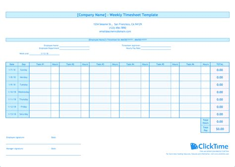 create a timesheet in excel to track billable hours for your