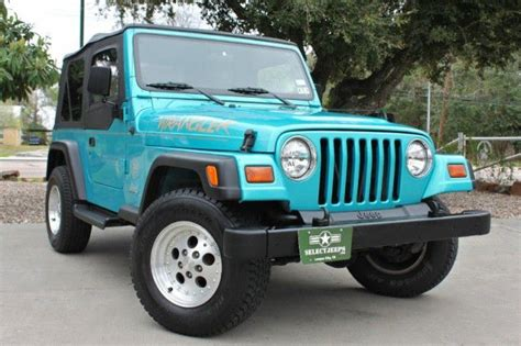 aqua jeep wrangler 17 best images about jeepers creepers on used