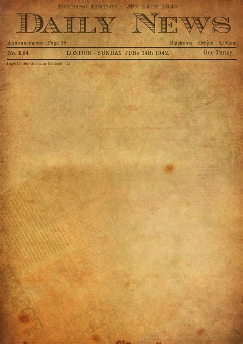 newspaper template sadamatsu hp