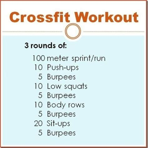 health food and fitness crossfit workouts