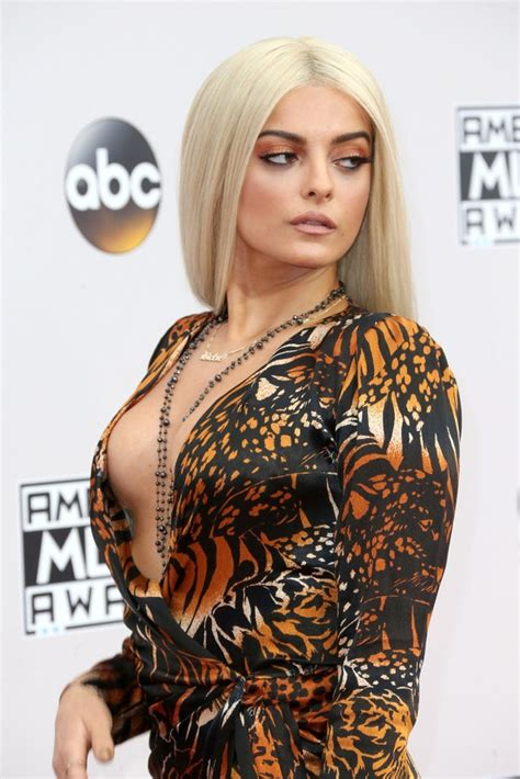 Bebe Rexha At The 2016 Amas In Los Angeles 11 20 2016 Celebzee