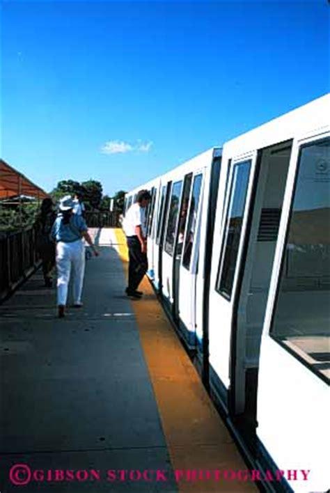 driverless monorail train metro zoo miami stock photo 4397