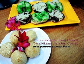 cara membuat onde onde ncc ncc jajan tradisional indonesia week onde onde kentang