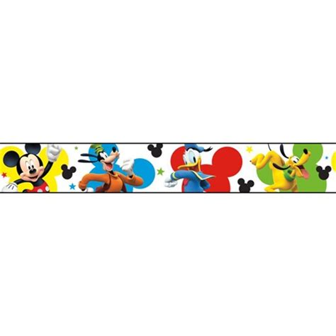 dy0203bd | disney mickey mouse & friends border | disney kids iii