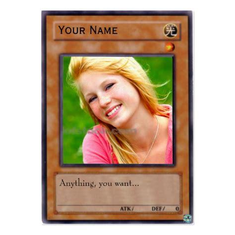 Yu Gi Oh Card Template Photoshop by Yu Gi Oh Card Business Card Templates Zazzle