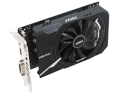 Vga Msi Gtx 1050 Ti Vga Msi Gtx 1050 Ti Aero Itx 4g Ocv1 Nvidia Geforce 4gb Ddr5 128bit