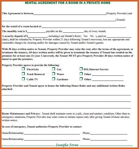 room rental agreement form room rental agreement form resume name