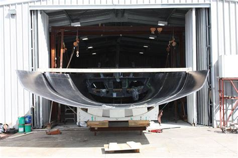 stern section bakewell white supermaxi designed to take transpac s barn