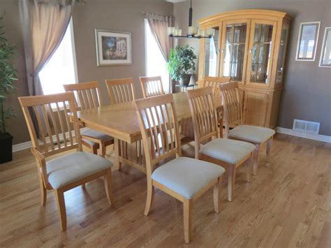 oak dining room sets with hutch solid oak dining room set with hutch and buffet orleans