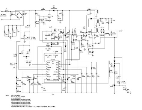 meanwell sp   schematic electronics projects circuits