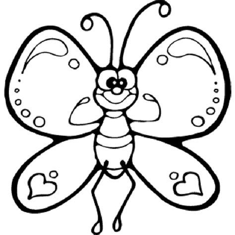 imagenes otoño infantiles para colorear mariposa 14 dibujos para imprimir y colorear