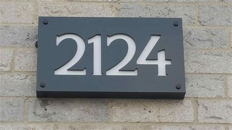 house number signs amazing ornamental numbers