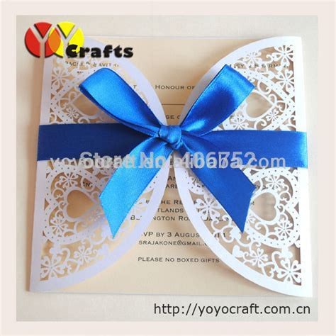 Luxury heart simple and elegant wedding invitations handmade wedding invitation card in Event