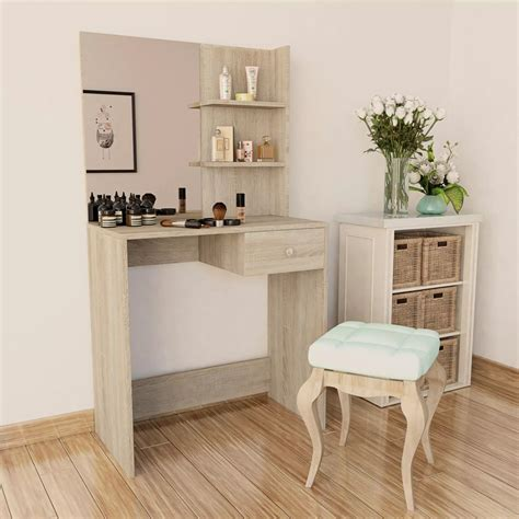Commode De Maquillage by Vidaxl Coiffeuse Agglom 233 R 233 Meuble Maquillage Commode De