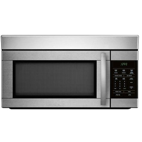 1 6 cu ft the range microwave in stainless steel
