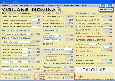 Calculo Nomina Vigilante De Seguridad Vigilansnomina 20 | calculo nomina vigilante de seguridad vigilansnomina 20