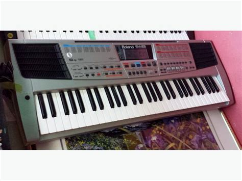 Keyboard Roland Em roland em 25 creative keyboard city