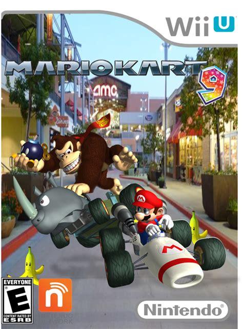 Nintendo Wii U Mario Kart 8 593 by Mario Kart 9 Wii U Boxart By Thatkidwiththeafro