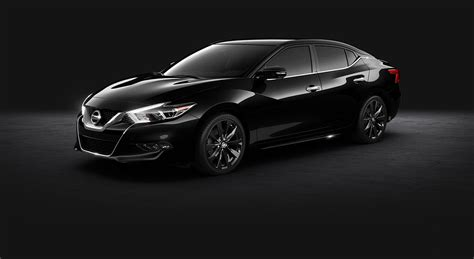 nissan maxima midnight edition black 2016 nissan maxima sr midnight black aluminum alloy wheels