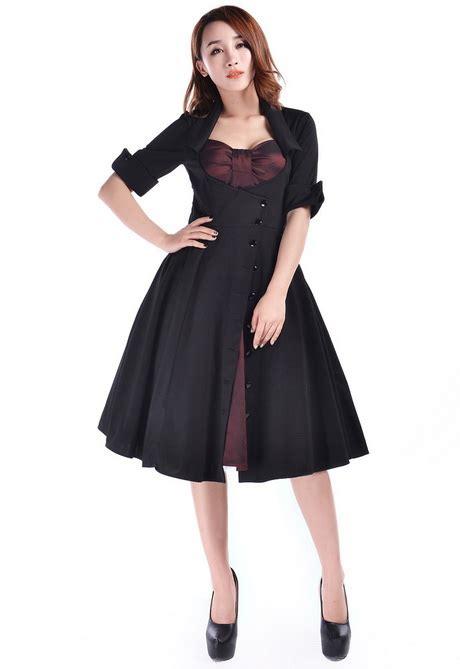 Swing Kleid Langarm by Rockabilly Kleid Langarm