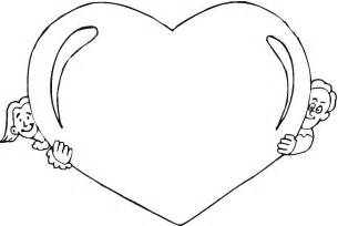 hearts to color free printable coloring pages for