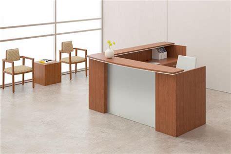 New Reception Desk Advanced Liquidators Series L Shape Reception Desk With Silver Metallic Modesty Panel