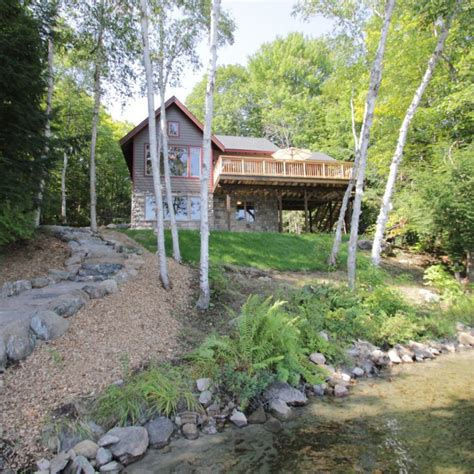 classic bass lake cottage