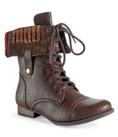 foldover sweater boots sweater lined foldover combat boot