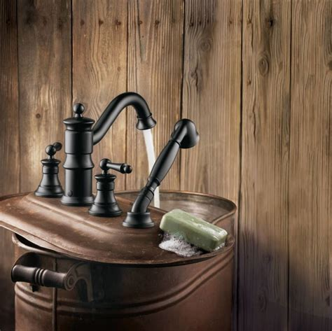wrought iron bathroom faucet faucet com ts213bn in brushed nickel by moen