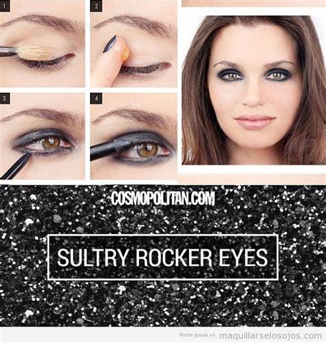 imagenes maquillaje rockero maquillaje de ojos estilosexy rockera paso a paso