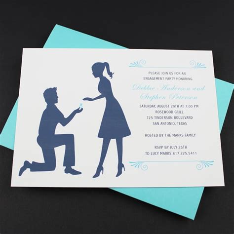Engagement Invitation Cards Free Templates by Engagement Free Invitation