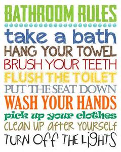 bathroom design rules best 25 bathroom rules ideas on pinterest