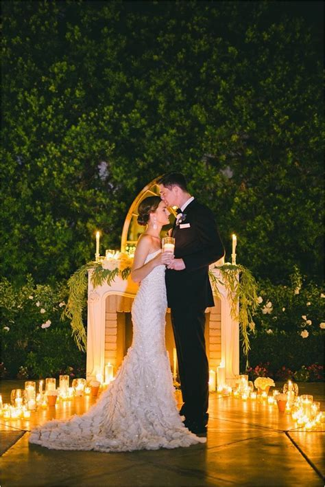 Romantic and Elegant Blue Franciscan Gardens Wedding