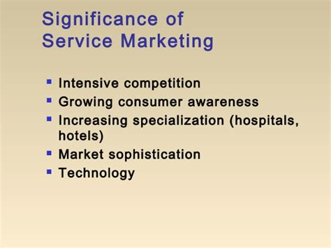 Mba Services Marketing Notes by Mba I Mm 1 U 5 1 Service Marketing